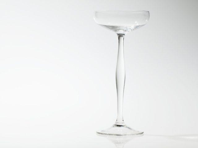 Champagne glass, Peter Behrens for Benedikt von Poschinger