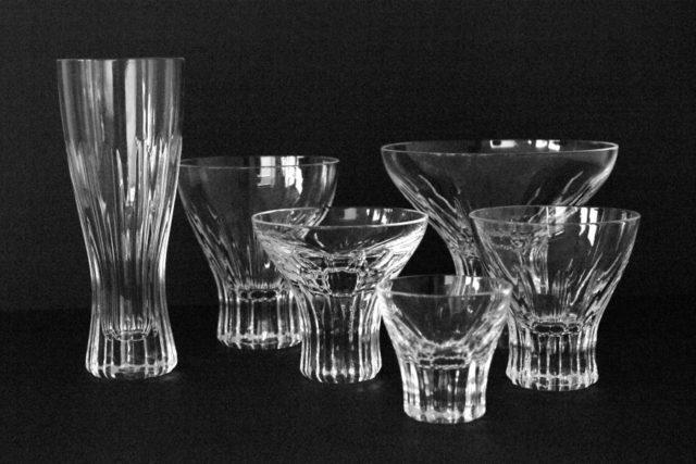 "Set of glasses ""Greif"", Wilhelm Wagenfeld"
