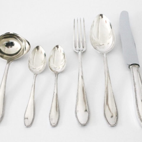 """Perl-cutlery"", Karl Groß for Peter Bruckmann"