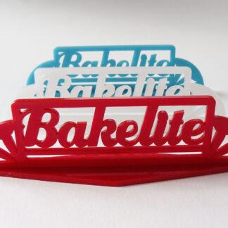 "Coloured Stand ""Bakelite"""