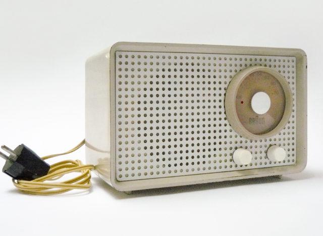 Radio, Kleinsuper SK 1, beige, Braun