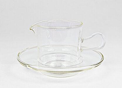 """Sauce-jug """"Soser"""" Wilhelm Wagenfeld for Jenaer Glas"""