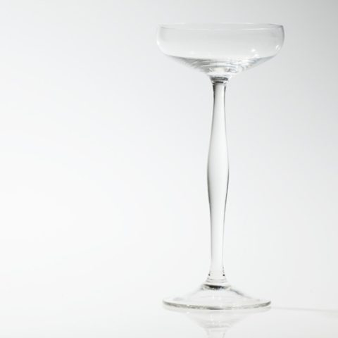 Champagne glass, Peter Behrens for Benedikt von Poschinger