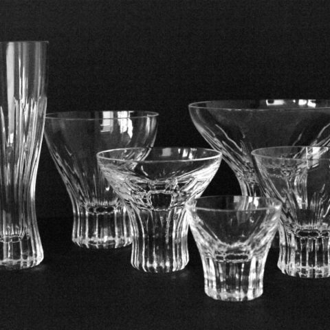 "Set of glasses ""Greif"", Wilhelm Wagenfeld"