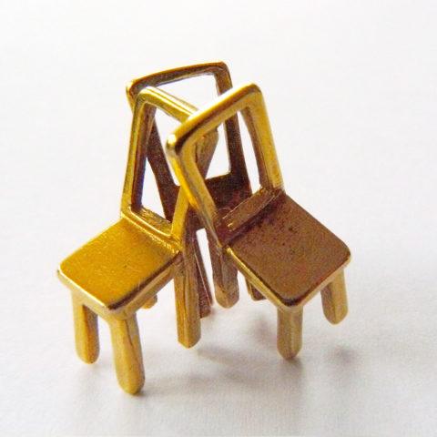 "Pendant ""Chairs"", Ole Bent Petersen for Georg Jensen"