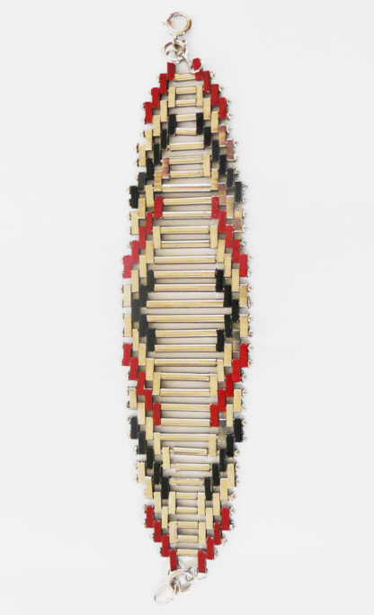 "Bracelet ""brickwork"", Jakob Bengel"