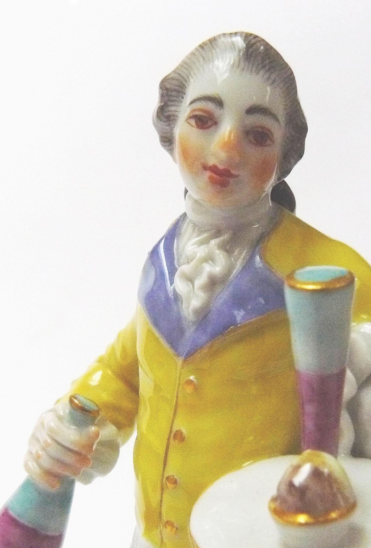 Cris de Paris, crier for lemonade, J.J. Kaendler, Meißen