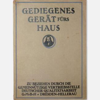"""Catalogue """"Gediegenes Gerät fürs Haus"""""""