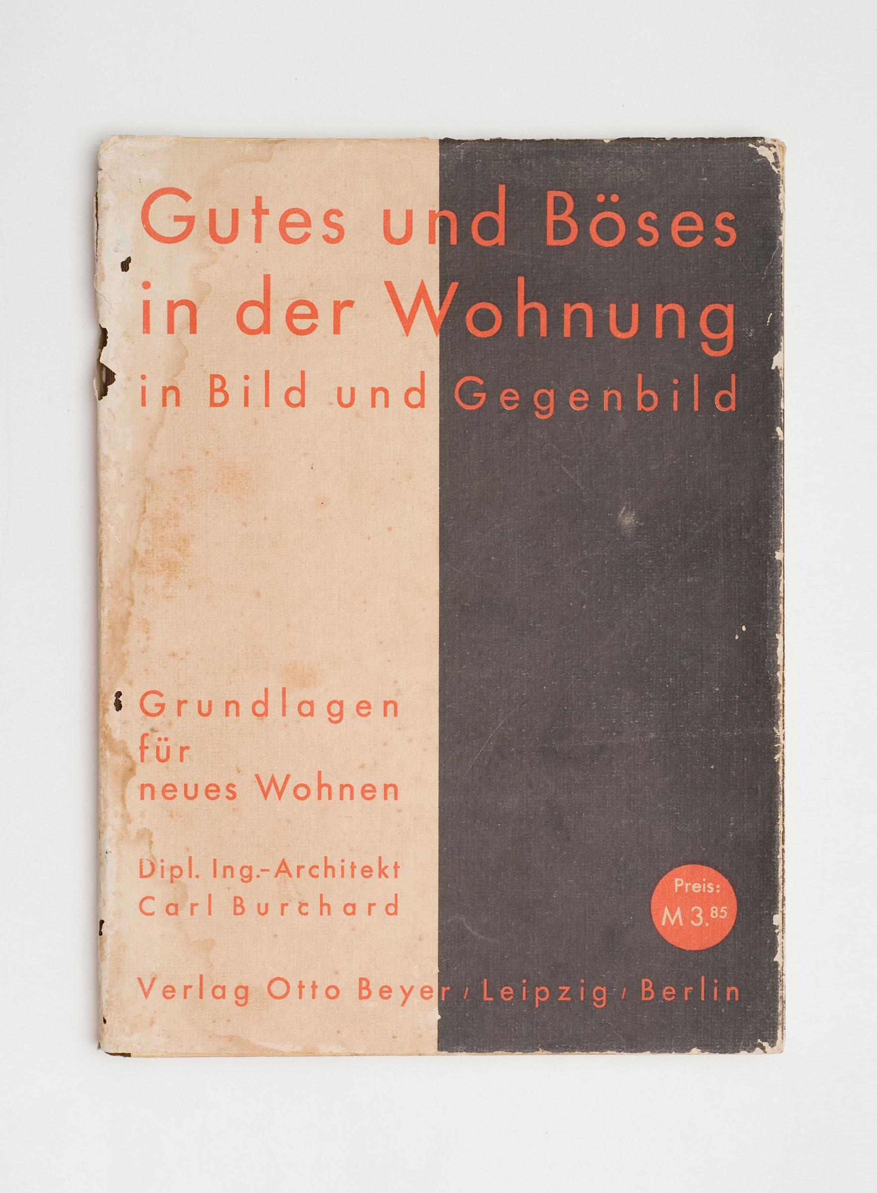 Gutes und Böses in der Wohnung, 1st + 2nd edition