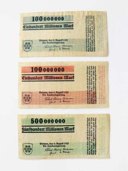 "Millions- ""Notgeld"", Thuringia, Herbert Bayer"