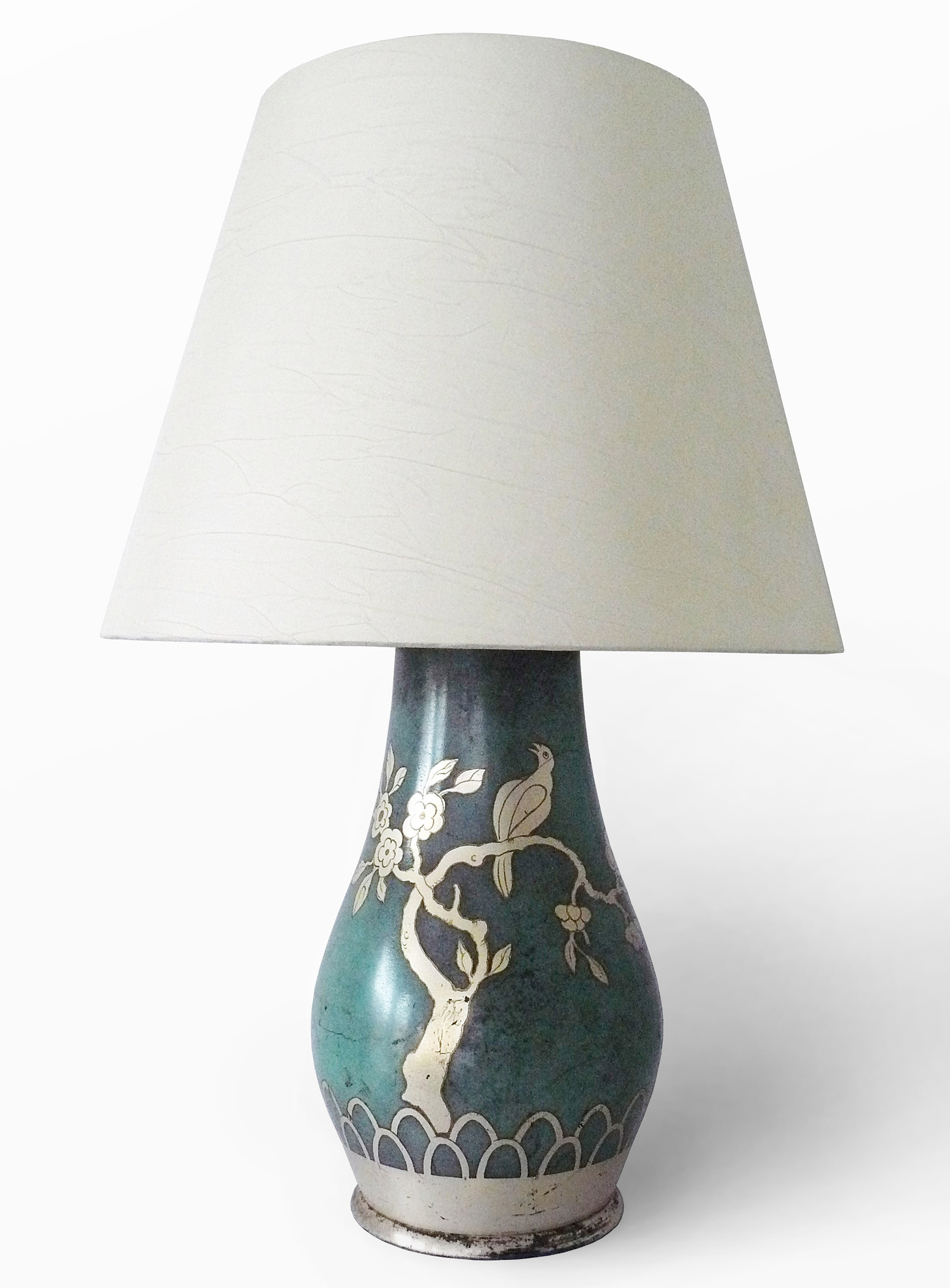 """Ikora""-Noble Metal line lamp, Paul Haustein, WMF"