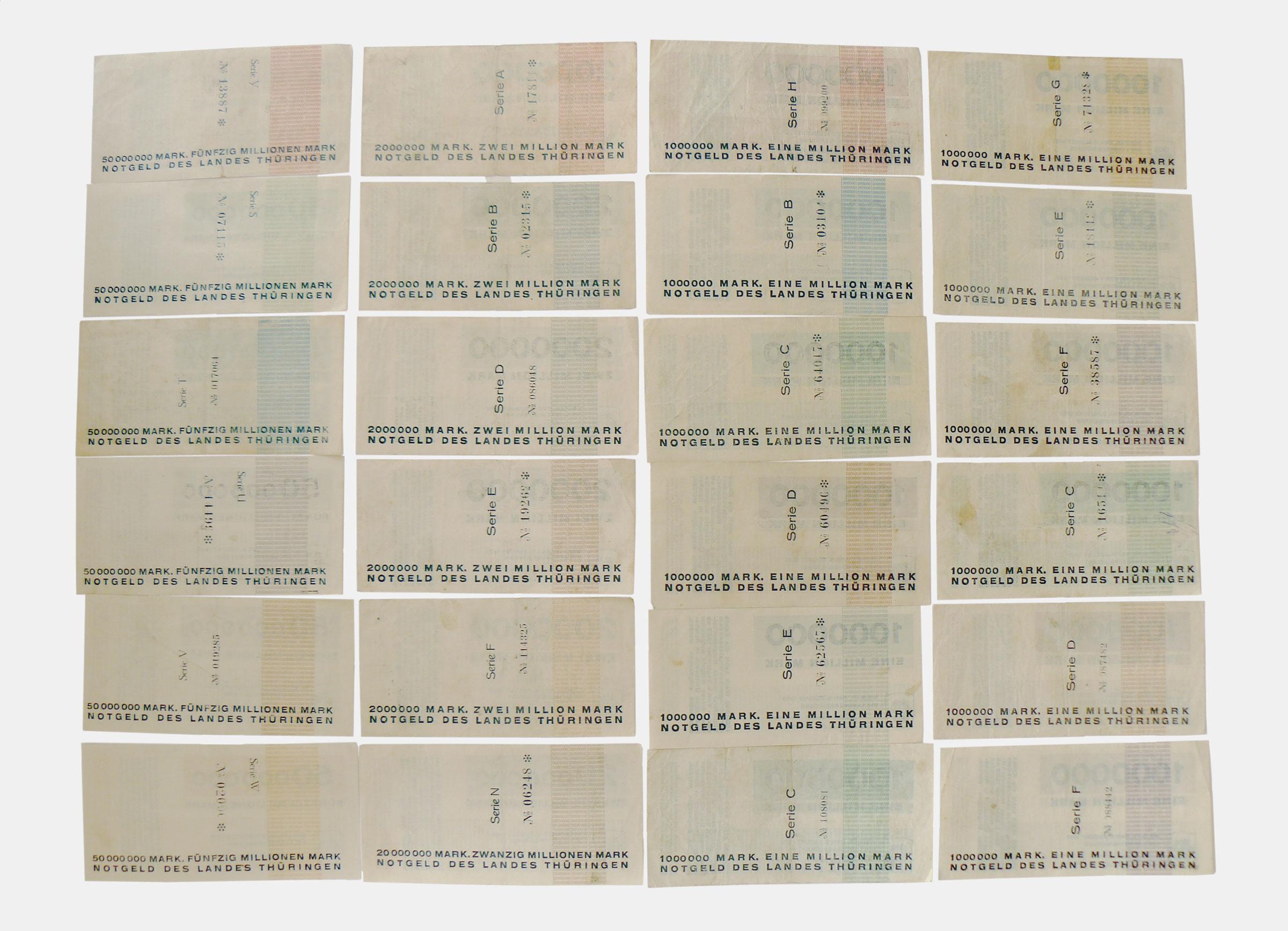 Was Ist Ein Bauhaus notgeld weimar 1923 design herbert bayer bauhaus design20 eu