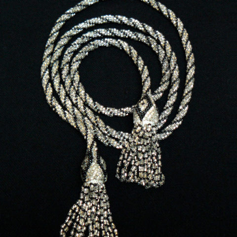 Sautoir with tassel, Art Déco