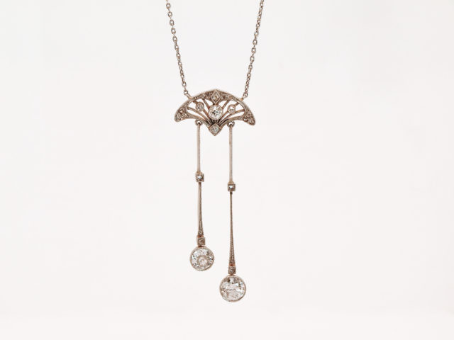 Negligee Necklace with Diamonds, 1910/1915