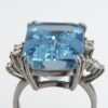 Ring with Aquamarine, Hans Stern Düsseldorf, 1996
